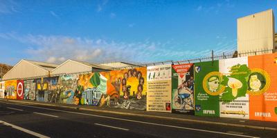 Belfast Peace Murals