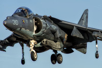 mcdonnell douglas av-8b harrier II night attack