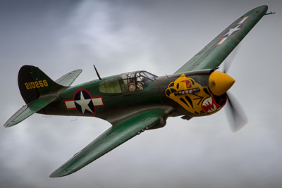 curtiss p-40k warhawk