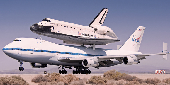 Ottosen Photography: NASA &emdash; boeing 747-123 shuttle carrier aircraft (sca)